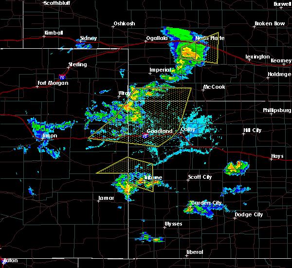 Radar Image for Severe Thunderstorms near Horace, KS at 6/4/2020 5:12 PM MDT