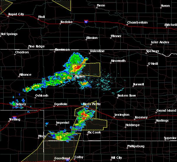Radar Image for Severe Thunderstorms near Maywood, NE at 6/4/2020 6:26 PM CDT