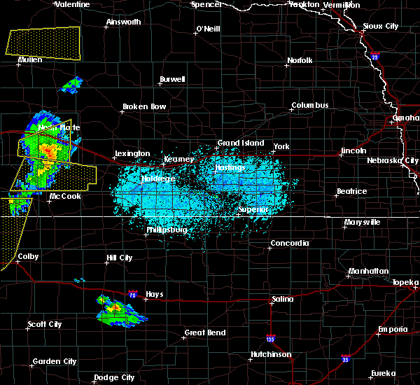 Radar Image for Severe Thunderstorms near Willow Island, NE at 6/4/2020 6:45 PM CDT
