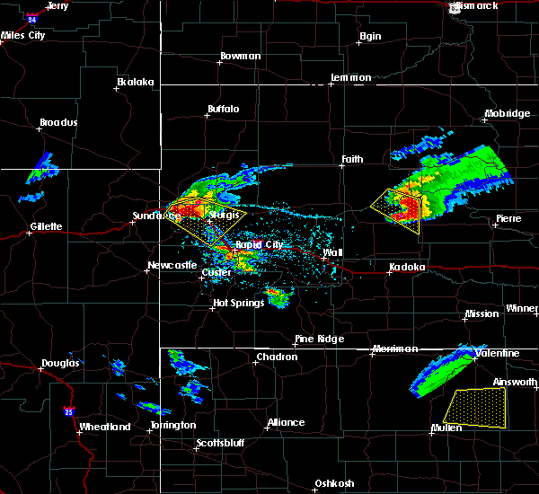 Radar Image for Severe Thunderstorms near Fruitdale, SD at 6/4/2020 5:47 PM MDT
