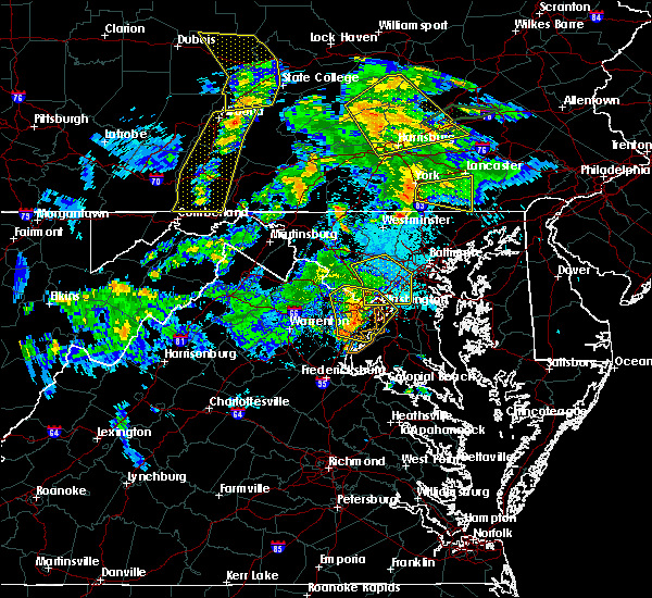 Radar Image for Severe Thunderstorms near Montgomery Village, MD at 6/4/2020 7:55 PM EDT