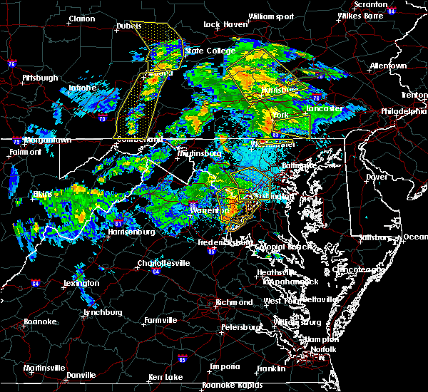Radar Image for Severe Thunderstorms near Manchester, MD at 6/4/2020 7:59 PM EDT