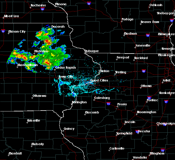 Radar Image for Severe Thunderstorms near Vinton, IA at 6/4/2020 7:01 PM CDT
