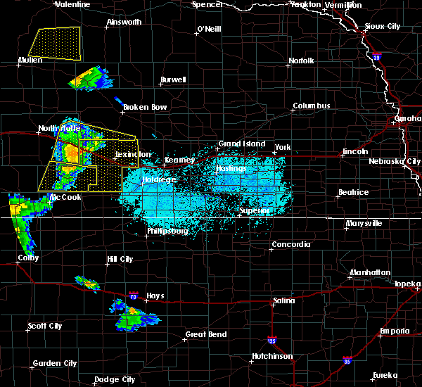 Radar Image for Severe Thunderstorms near Willow Island, NE at 6/4/2020 7:05 PM CDT