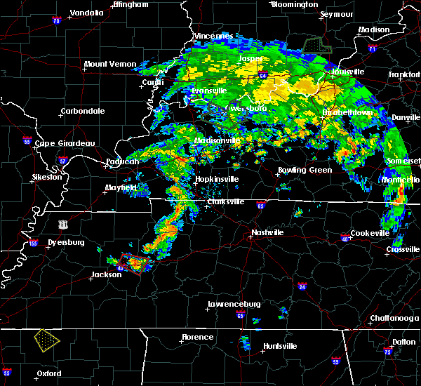 Radar Image for Severe Thunderstorms near Tennessee Ridge, TN at 6/4/2020 7:18 PM CDT