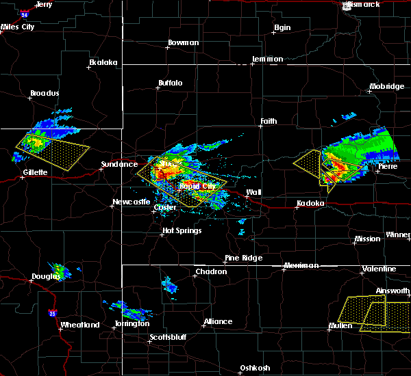 Radar Image for Severe Thunderstorms near Blackhawk, SD at 6/4/2020 6:21 PM MDT