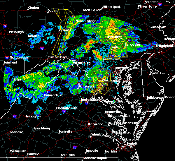 Radar Image for Severe Thunderstorms near Montgomery Village, MD at 6/4/2020 8:25 PM EDT
