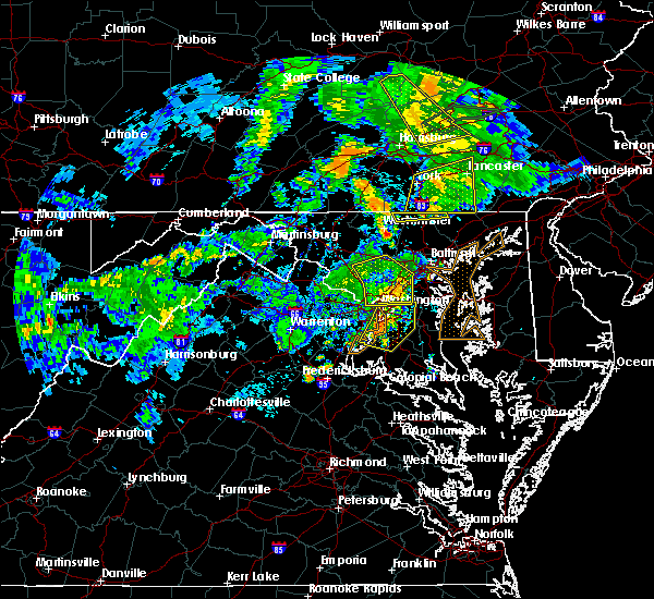 Radar Image for Severe Thunderstorms near Croom, MD at 6/4/2020 8:29 PM EDT