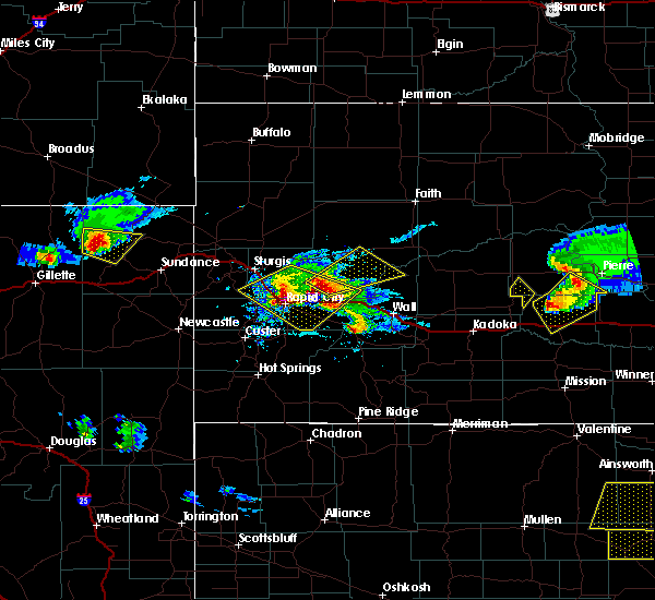 Radar Image for Severe Thunderstorms near Blackhawk, SD at 6/4/2020 6:41 PM MDT