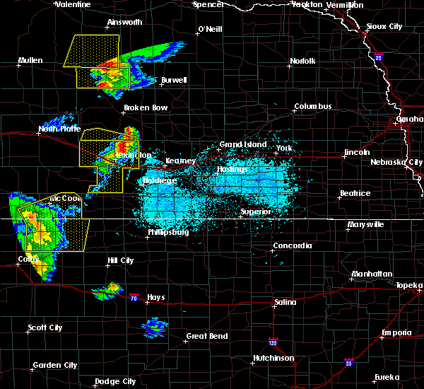 Radar Image for Severe Thunderstorms near Willow Island, NE at 6/4/2020 7:44 PM CDT