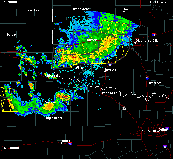 Radar Image for Severe Thunderstorms near Gotebo, OK at 6/4/2020 7:50 PM CDT