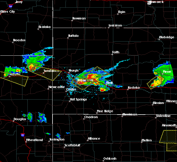 Radar Image for Severe Thunderstorms near Spearfish, SD at 6/4/2020 6:54 PM MDT