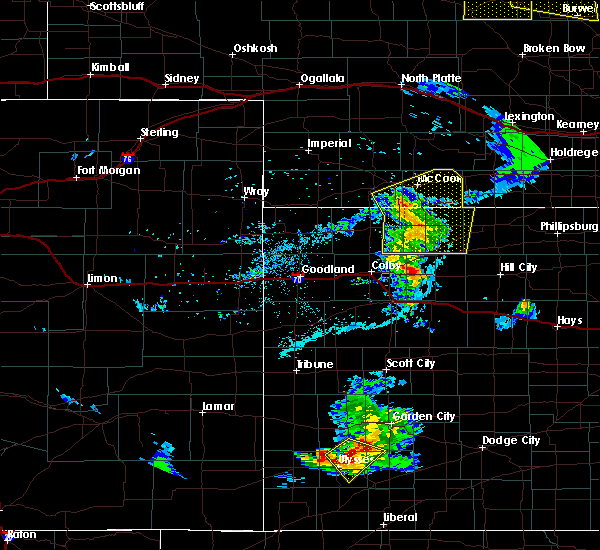 Radar Image for Severe Thunderstorms near Clayton, KS at 6/4/2020 7:59 PM CDT