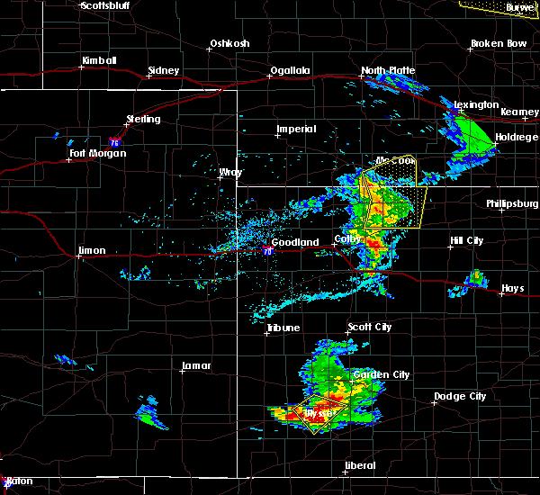 Radar Image for Severe Thunderstorms near Selden, KS at 6/4/2020 8:04 PM CDT