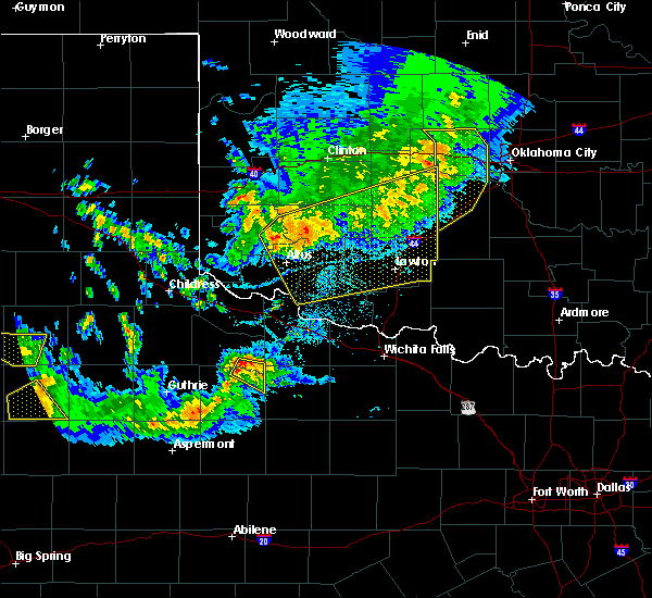 Radar Image for Severe Thunderstorms near Gotebo, OK at 6/4/2020 8:03 PM CDT