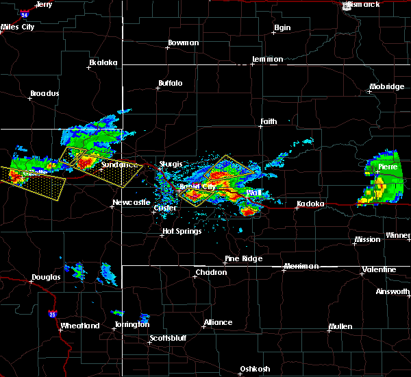 Radar Image for Severe Thunderstorms near Sleepy Hollow, WY at 6/4/2020 7:04 PM MDT