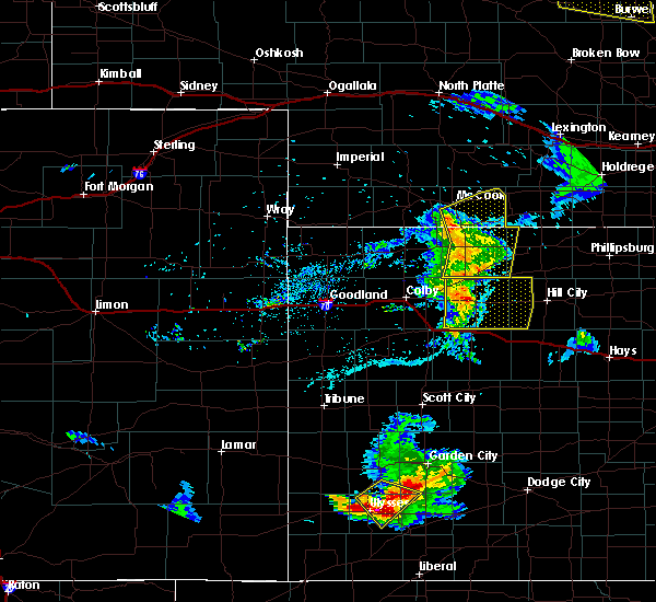 Radar Image for Severe Thunderstorms near Norton, KS at 6/4/2020 8:13 PM CDT