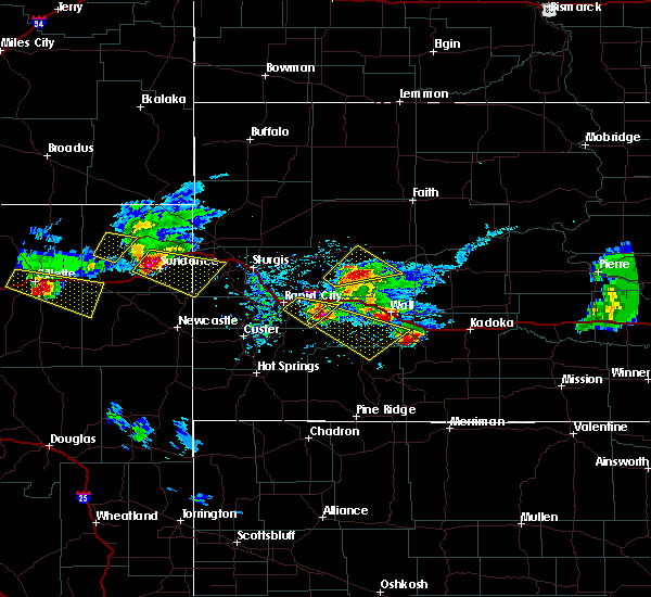 Radar Image for Severe Thunderstorms near Spearfish, SD at 6/4/2020 7:13 PM MDT