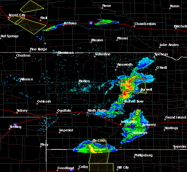Radar Image for Severe Thunderstorms near Sargent, NE at 6/4/2020 8:19 PM CDT