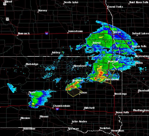 Radar Image for Severe Thunderstorms near Virgil, SD at 6/4/2020 8:26 PM CDT