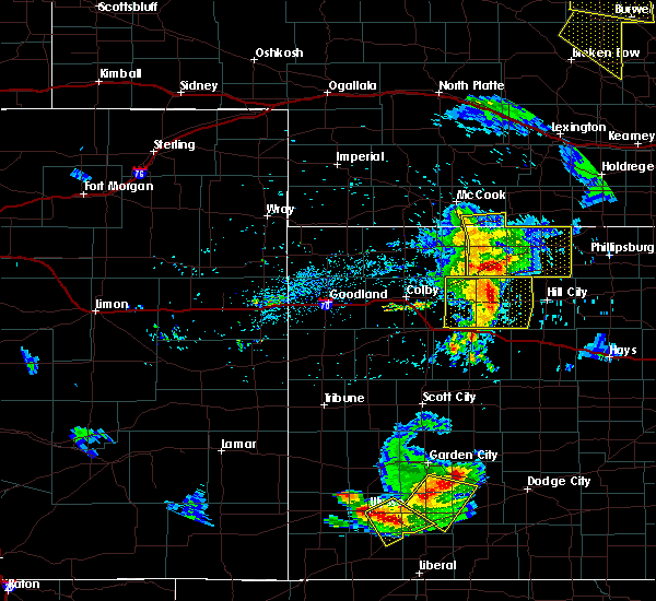 Radar Image for Severe Thunderstorms near Norton, KS at 6/4/2020 8:27 PM CDT