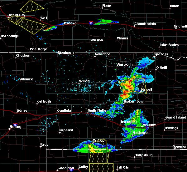 Radar Image for Severe Thunderstorms near Bartlett, NE at 6/4/2020 8:31 PM CDT