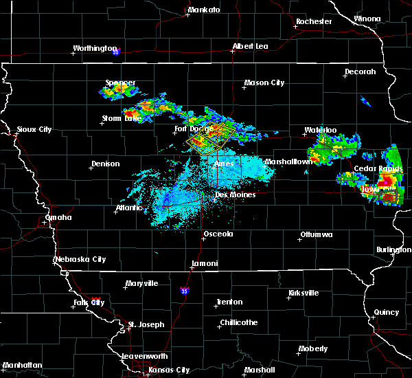 Radar Image for Severe Thunderstorms near Jewell Junction, IA at 6/4/2020 8:37 PM CDT