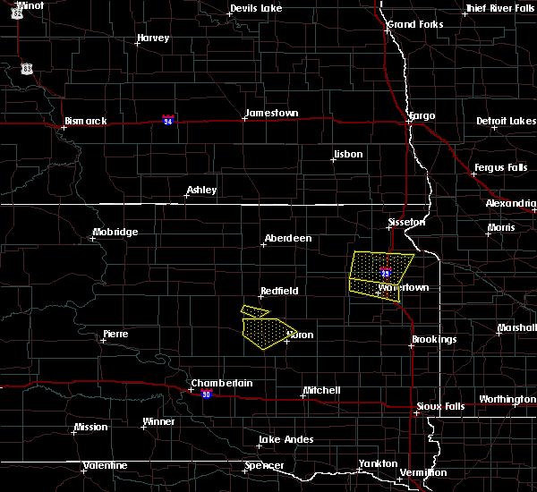 Radar Image for Severe Thunderstorms near Castlewood, SD at 6/4/2020 8:38 PM CDT