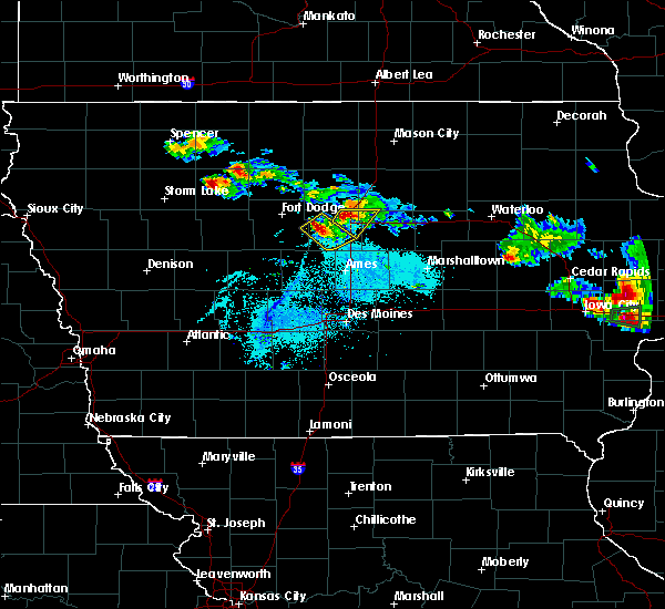 Radar Image for Severe Thunderstorms near Blairsburg, IA at 6/4/2020 8:43 PM CDT