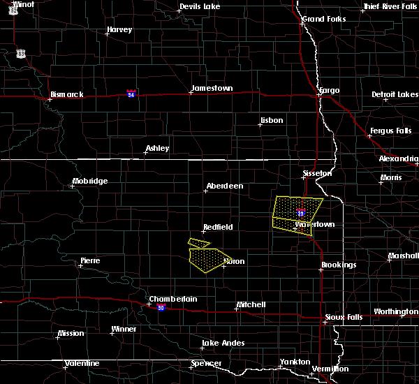 Radar Image for Severe Thunderstorms near Virgil, SD at 6/4/2020 8:44 PM CDT
