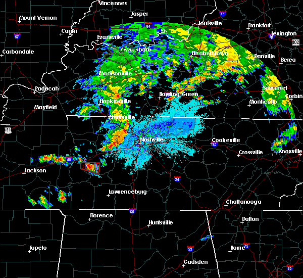 Radar Image for Severe Thunderstorms near Centerville, TN at 6/4/2020 8:43 PM CDT