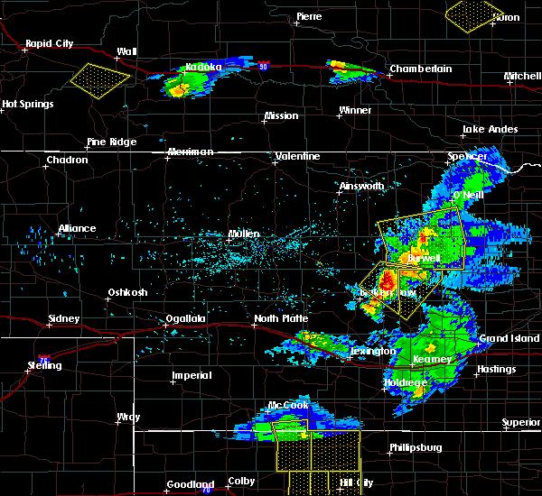 Radar Image for Severe Thunderstorms near Ord, NE at 6/4/2020 8:47 PM CDT