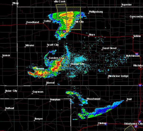 Radar Image for Severe Thunderstorms near Satanta, KS at 6/4/2020 8:53 PM CDT