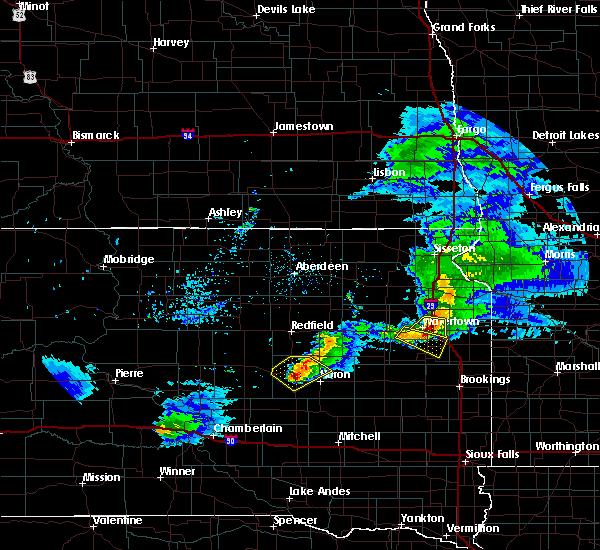 Radar Image for Severe Thunderstorms near Virgil, SD at 6/4/2020 8:52 PM CDT