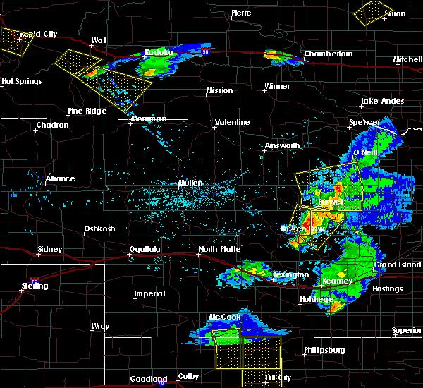Radar Image for Severe Thunderstorms near Westerville, NE at 6/4/2020 8:56 PM CDT