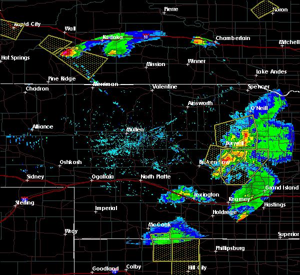 Radar Image for Severe Thunderstorms near Bartlett, NE at 6/4/2020 9:04 PM CDT