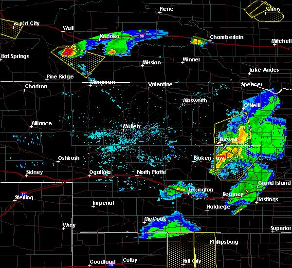 Radar Image for Severe Thunderstorms near Bartlett, NE at 6/4/2020 9:12 PM CDT