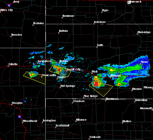 Radar Image for Severe Thunderstorms near Blackhawk, SD at 6/4/2020 8:15 PM MDT