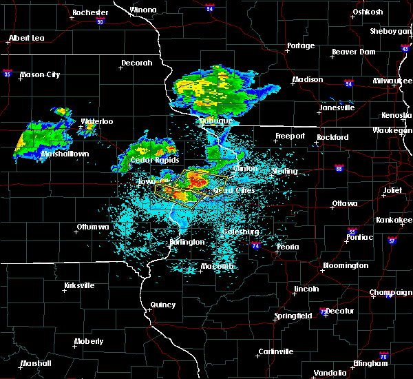 Radar Image for Severe Thunderstorms near Maysville, IA at 6/4/2020 9:49 PM CDT