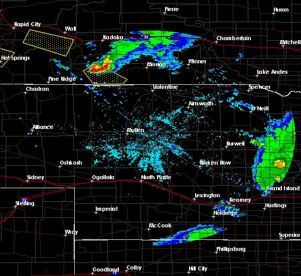 Radar Image for Severe Thunderstorms near Martin, SD at 6/4/2020 8:59 PM MDT