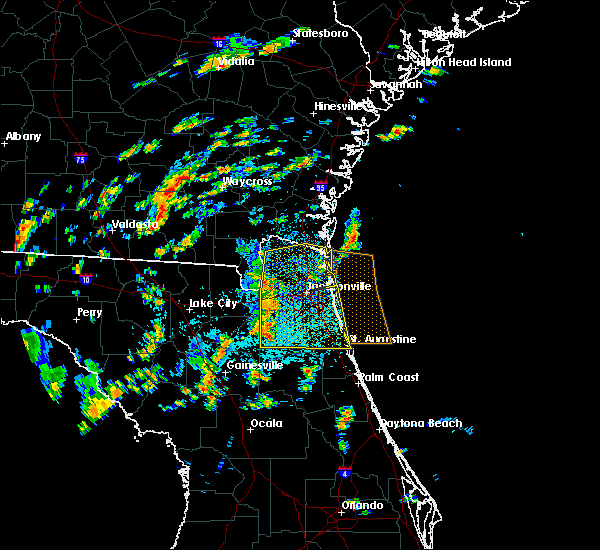 Radar Image for Severe Thunderstorms near Callahan, FL at 6/28/2015 1:27 PM EDT