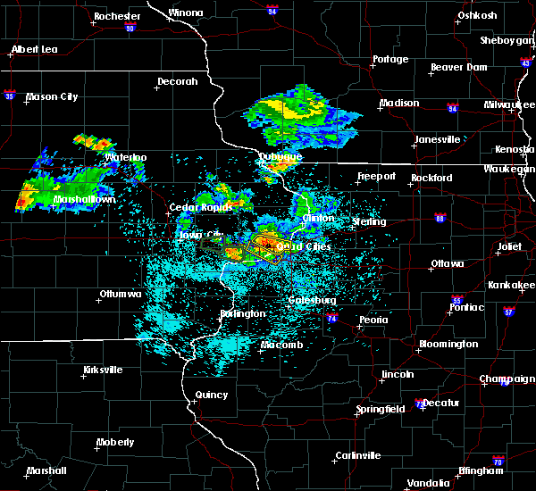 Radar Image for Severe Thunderstorms near Cleveland, IL at 6/4/2020 10:14 PM CDT