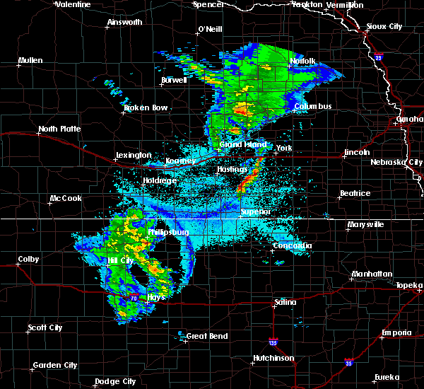 Radar Image for Severe Thunderstorms near Ong, NE at 6/4/2020 10:17 PM CDT
