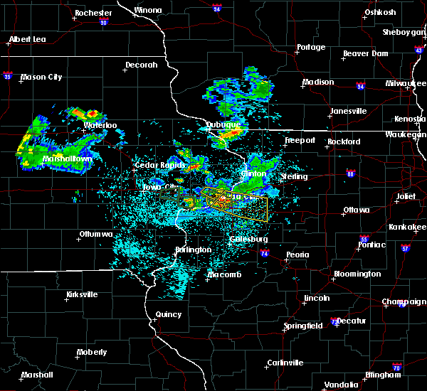 Radar Image for Severe Thunderstorms near Cleveland, IL at 6/4/2020 10:33 PM CDT