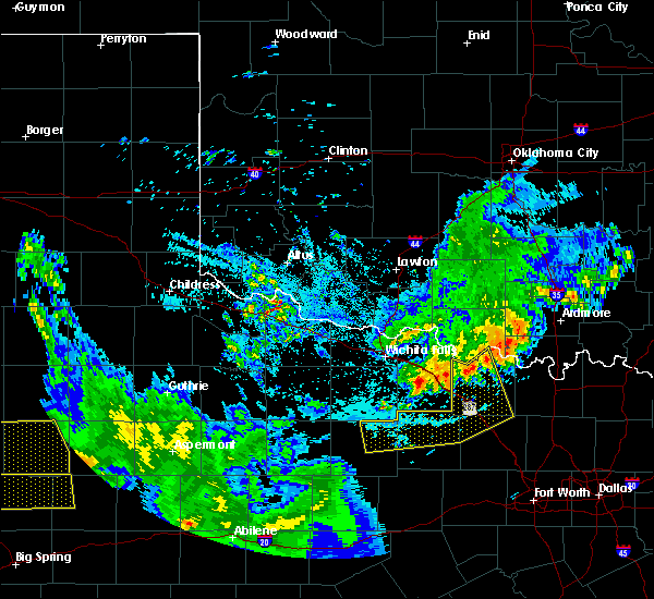 Radar Image for Severe Thunderstorms near Montague, TX at 6/4/2020 10:46 PM CDT