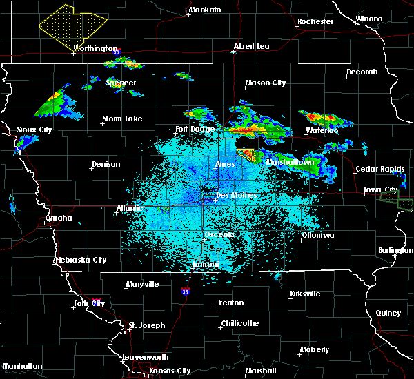 Radar Image for Severe Thunderstorms near New Providence, IA at 6/4/2020 10:58 PM CDT