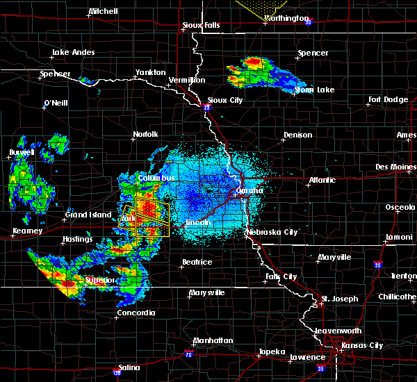 Radar Image for Severe Thunderstorms near Denton, NE at 6/4/2020 11:16 PM CDT