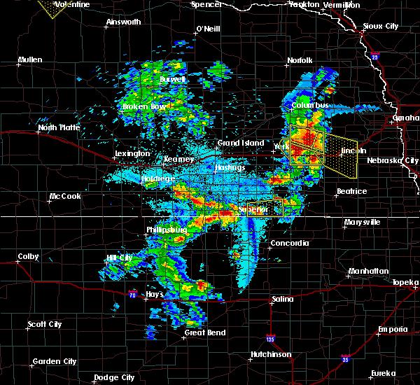 Radar Image for Severe Thunderstorms near Hubbell, NE at 6/4/2020 11:18 PM CDT