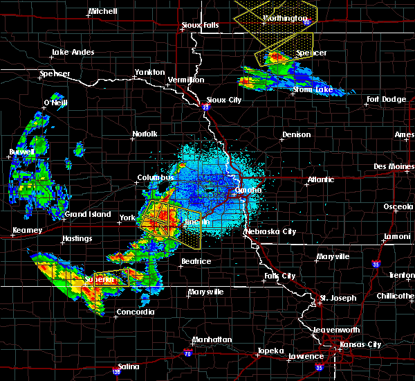 Radar Image for Severe Thunderstorms near Denton, NE at 6/4/2020 11:34 PM CDT