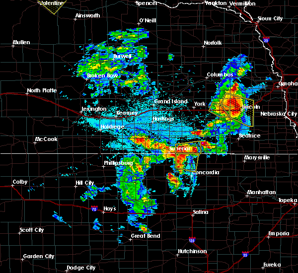 Radar Image for Severe Thunderstorms near Milligan, NE at 6/4/2020 11:41 PM CDT
